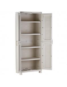 armario resina estantes - 2 Puertas