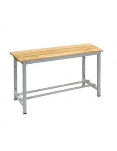 banco sencillo madera