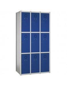 taquilla modular 9 puertas...