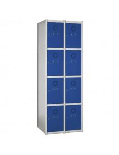 taquilla modular 8 puertas 2 columnas