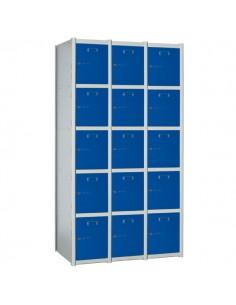 taquilla modular 15 puertas...