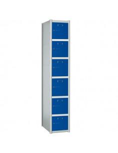 taquilla modular 6 puertas...